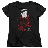 Army Of Darkness Womens Shirt Pile Of Baddies Black T-Shirt