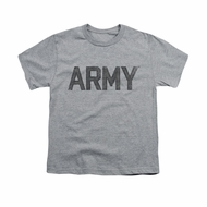 Army Shirt Kids PT Gear Athletic Heather T-Shirt