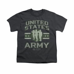 Army Shirt Kids U.S. Army Charcoal T-Shirt