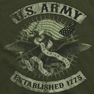 Army Union Eagle Shirts