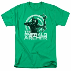Arrow Shirt Emerald Archer Kelly Green T-Shirt