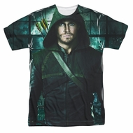 Arrow Shirt Hooded Sublimation Shirt