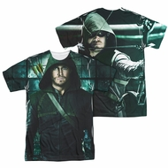 Arrow Shirt Hooded Sublimation Shirt Front/Back Print
