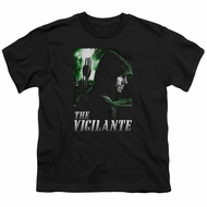 Arrow Shirt Kids The Vigilante Black T-Shirt