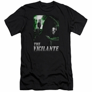 Arrow Shirt Slim Fit The Vigilante Black T-Shirt
