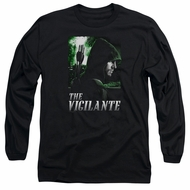 Arrow Shirt The Vigilante Long Sleeve Black Tee T-Shirt