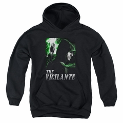 Arrow Youth Hoodie The Vigilante Black Kids Hoody
