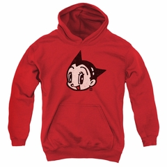 Astro Boy Kids Hoodie Face Red Youth Hoody