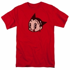 Astro Boy Shirt Face Red Tee T-Shirt