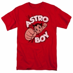 Astro Boy Shirt Flying Red Tee T-Shirt