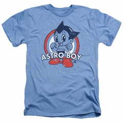Astro Boy Shirt Target Heather Light Blue T-Shirt