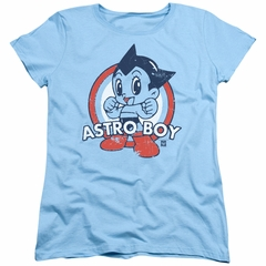 Astro Boy Womens Shirt Target Light Blue T-Shirt