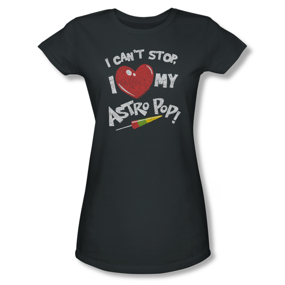 Astro pop shirt juniors i can 39 t stop charcoal t shirt for Where can i buy shirts