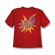 Astro Pop Shirt Kids Blast Off Red T-Shirt