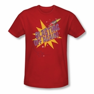 Astro Pop Shirt Slim Fit Blast Off Red T-Shirt