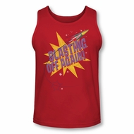 Astro Pop Shirt Tank Top Blast Off Red Tanktop