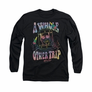 Astro Pop Shirt Whole Other Trip Long Sleeve Black Tee T-Shirt