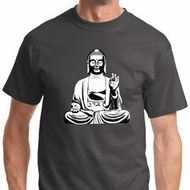 At Peace Buddha Mens Shirts