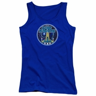 Atari Juniors Tank Top Star Raiders Badge Royal Blue Tanktop