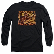 Atari Long Sleeve Shirt Tempest Demon Reach Black Tee T-Shirt