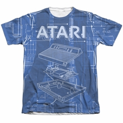 Atari Shirt Inside Out Poly/Cotton Sublimation T-Shirt