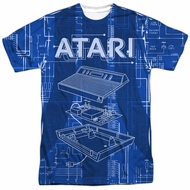 Atari Shirt Inside Out Sublimation T-Shirt