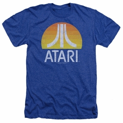 Atari Shirt Logo Heather Royal T-Shirt