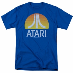 Atari Shirt Logo Royal T-Shirt