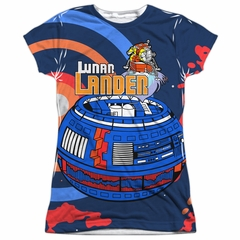 Atari Shirt Lunar Landing Sublimation Juniors T-Shirt