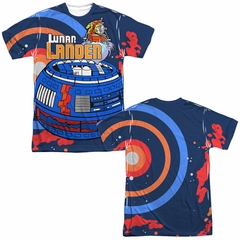 Atari Shirt Lunar Landing Sublimation T-Shirt Front/Back Print