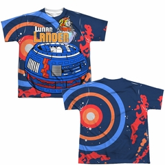 Atari Shirt Lunar Landing Sublimation Youth T-Shirt Front/Back Print
