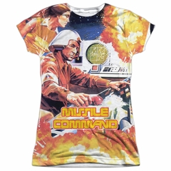 Atari Shirt Missile Command Sublimation Juniors T-Shirt
