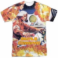 Atari Shirt Missile Command Sublimation T-Shirt