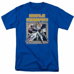 Atari Shirt Missile Commander Royal Blue T-Shirt