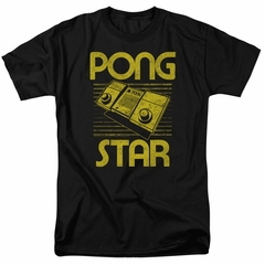 Atari Shirt Pong Star Black T-Shirt