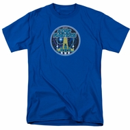 Atari Shirt Star Raiders Badge Royal Blue T-Shirt