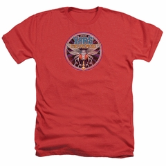 Atari Shirt Yars Revenge Patch Heather Red T-Shirt