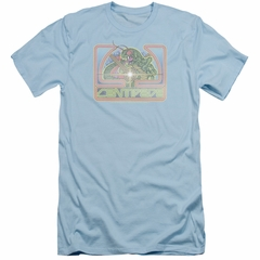 Atari Slim Fit Shirt Classic Centipede Light Blue T-Shirt