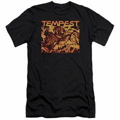 Atari Slim Fit Shirt Tempest Demon Reach Black T-Shirt