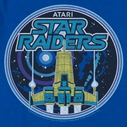 Atari Star Raiders Badge Shirts