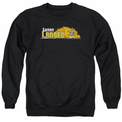 Atari Sweatshirt Lunar Lander Adult Black Sweat Shirt
