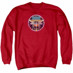 Atari Sweatshirt Yars Revenge Patch Adult Red Sweat Shirt