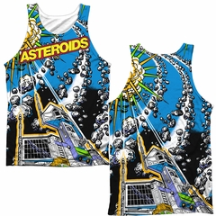 Atari Tank Top Asteroids All Over Sublimation Tanktop Front/Back Print