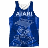 Atari Tank Top Inside Out Sublimation Tanktop