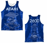 Atari Tank Top Inside Out Sublimation Tanktop Front/Back Print