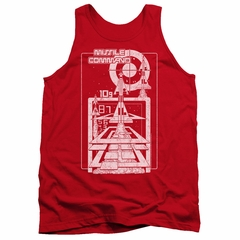 Atari Tank Top Lift Off Red Tanktop