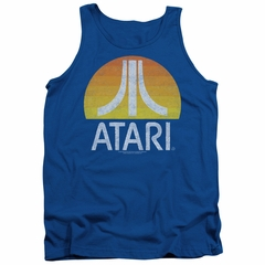 Atari Tank Top Logo Royal Tanktop