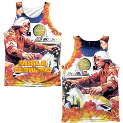 Atari Tank Top Missile Command Sublimation Tanktop Front/Back Print