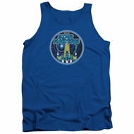 Atari Tank Top Star Raiders Badge Royal Blue Tanktop