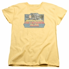 Atari Womens Shirt Asteroids Deluxe Banana T-Shirt
